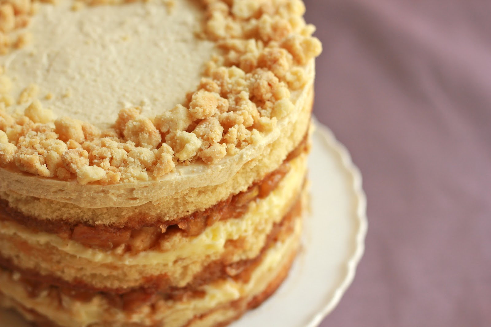 Milk Bar Mondays Apple Pie Layer Cake The Sequined Cupcake